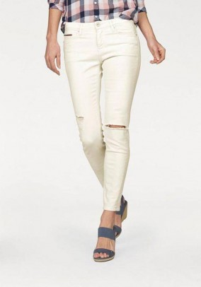 Brand jeans 7/8 length, cream white