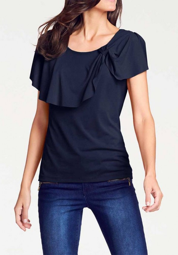 Blouse shirt, blue