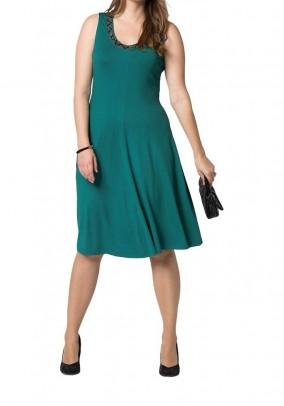 Žalia Sheego suknelė