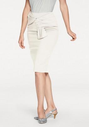 Optimizing skirt, cream