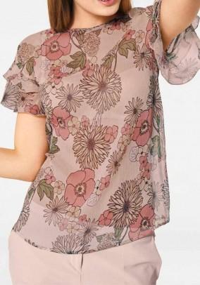 Print blouse, multicolour