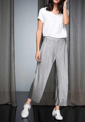 Culotte, silver coloured