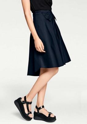 Originalus mėlynas sijonas