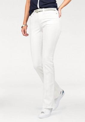 Designer jeans, white