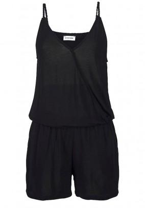 Short jumsuit, black