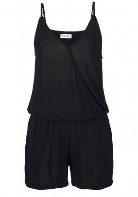 Short jumsuit, black