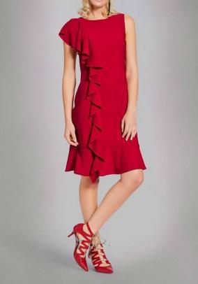 """Ryškiai raudona suknelė """"Classic"""". Liko 40 dydis"""