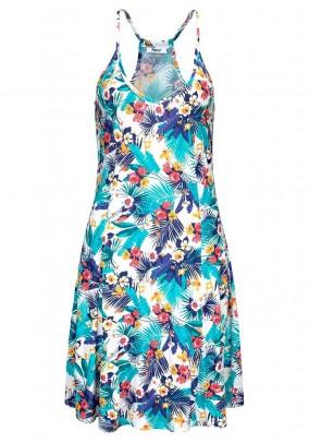 Ryški paplūdimio suknelė