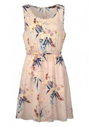Dress, beige-multicolour