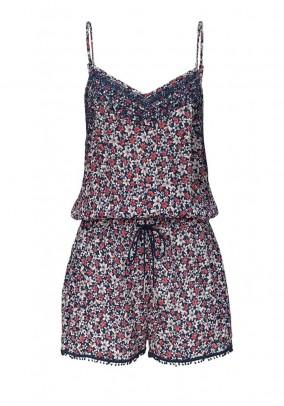 Short jumpsuit, multicolour