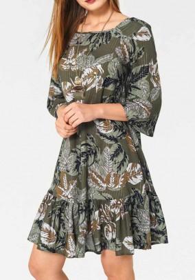 "Marga chaki suknelė ""Olive"""
