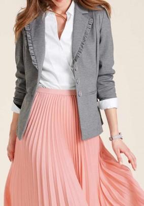 Jersey blazer, grey blend