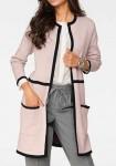 Long cardigan, rose-cute