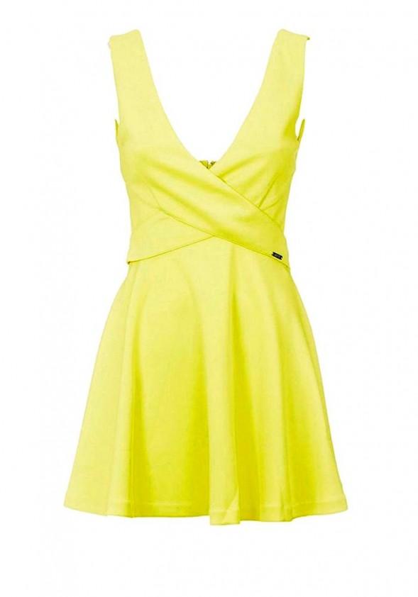 Geltona GUESS suknelė