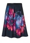 Juodas pastelinis sijonas