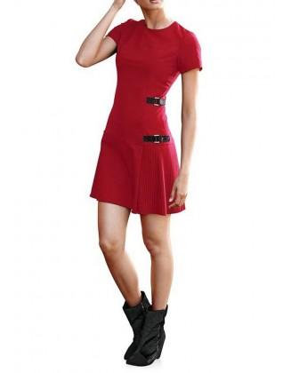 "Raudona suknelė ""Sheila"""