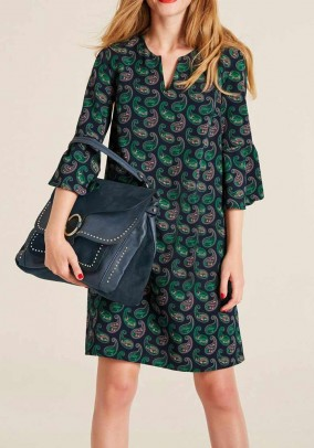 Print dress, multicolour