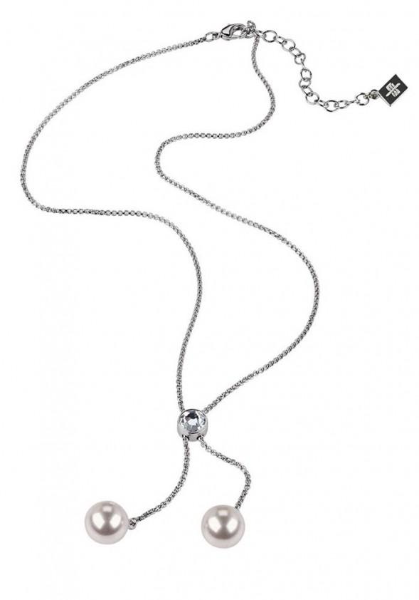 Kaklo vėrinys su perlais