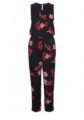Jumpsuit, navy-multicolour