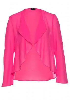 Chiffon bolero, pink