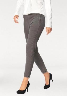 Stretch jeans, grey blend, 28inch