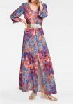 Maxi dress, multicolour
