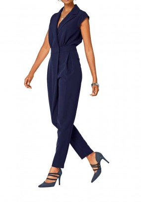 Jumpsuit, dark blue