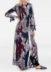 Maxi ilgio marga suknelė
