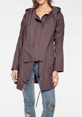 Parka, taupe