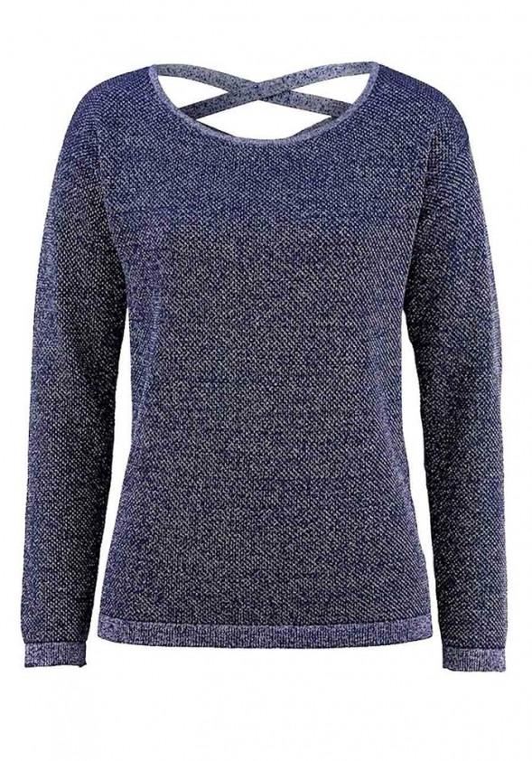 Mėlynas Amy Vermont megztinis