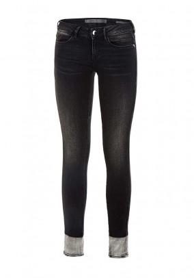 Skinny jeans, black-used, 30inch