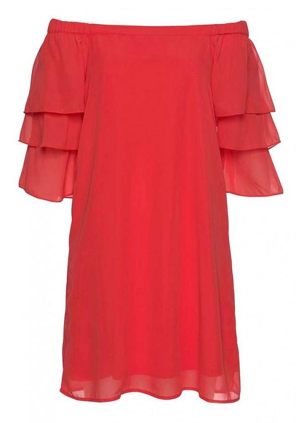 Raudona Vero Moda suknelė