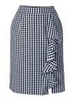 Languotas aptemptas sijonas