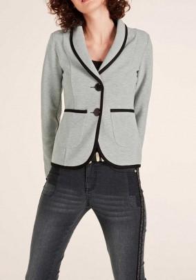 Jersey blazer, grey