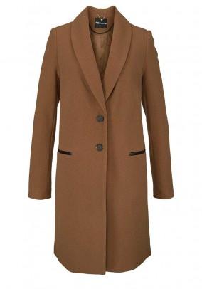Rudas Tamaris vilnos paltas