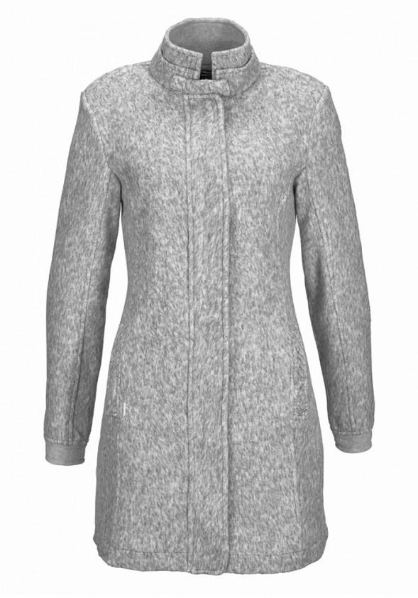 Pilkas KangaROOS paltas