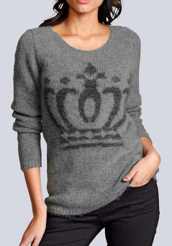 newest 16c59 cc2d8 Sweater, grey