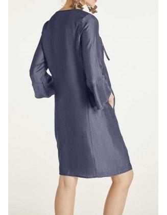 """Mėlyna suknelė """"Denim blue"""""""