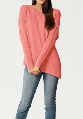 Cashmere sweater, apricot