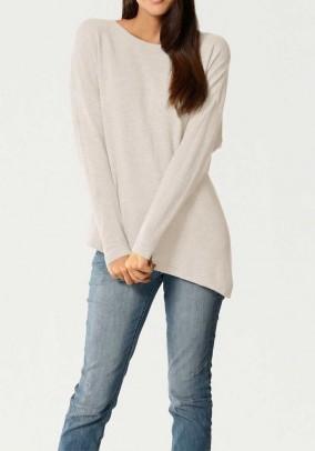 Cashmere sweater, offwhite