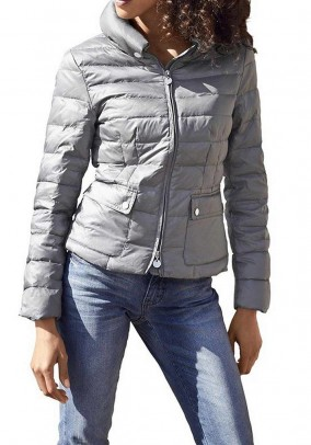 Down jacket, medium grey