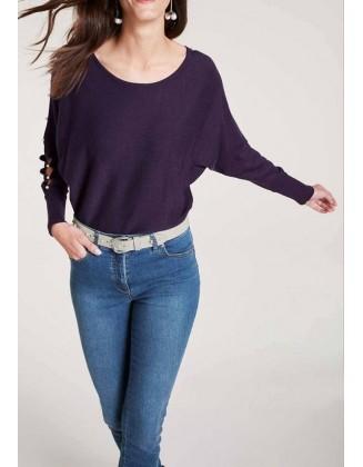 "Violetinis megztinis ""Perl"""