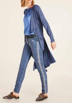 Long blazer, blue