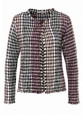 Boucle jacket, multicolour