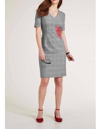 """Pilka klasikinė suknelė """"Embry"""""""