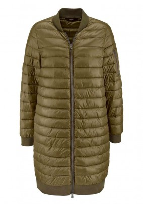 Quilted jacket, olive