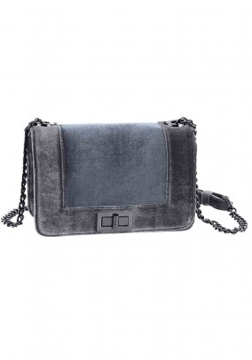 Shoulder bag, grey