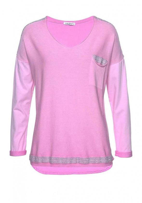 ZABAIONE rožinis megztinis