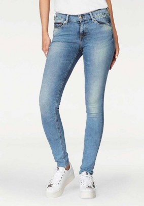 Skinny jeans, blue used, 30inch