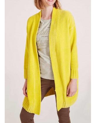 "Ilgas geltonas megztinis ""Chanel"""